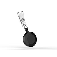 Wbox Badge Retractors with Strap ABS - 25 Pack