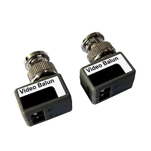 W Box Pair Miniature MP Video Balun (Screw Terminal to BNC)