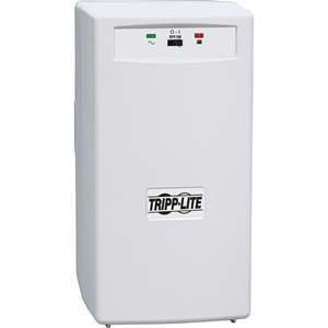 Standby tower UPS protects PCs and network workstations from blackouts, surges and line noise. Maintains AC output during blackouts and brownouts starting at 99V. Includes front panel LED indicators.