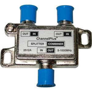Channel Plus 2512 DC/IR Passing Splitter/Combiners (2-way)