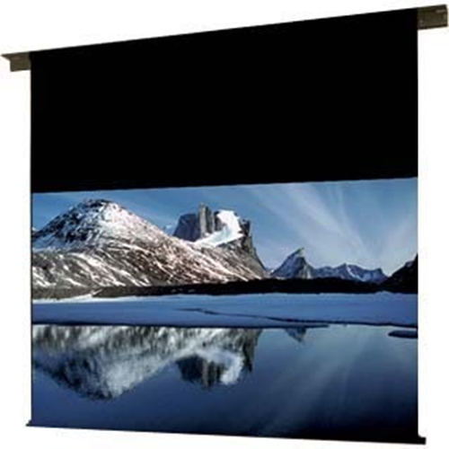 Ambassador Motorized Projection Screen - Ceiling Recessed - Non-Tensioned - 60 x 60 - 85 Diagonal - Square Format - Matte White