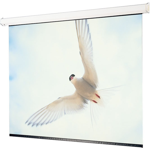 Targa Motorized Projection Screen - Wall or Ceiling Mounted - Non-Tensioned - 79 x 140 - 161 Diagonal - HDTV Format (16:9 Aspect) - Matte White
