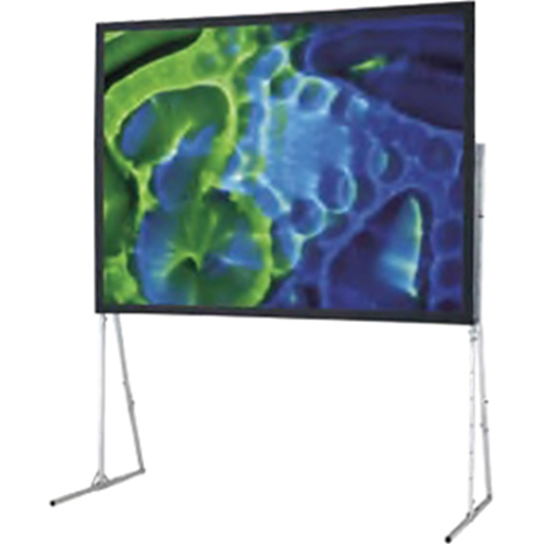 Ultimate Folding Portable Front Projection Screen with Heavy Duty Legs - 120 x 192 - 240 Diagonal - Video Format (4:3 Aspect) - Matte White