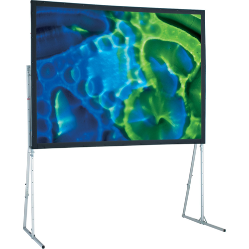 Ultimate Folding Rear Projection Screen with Heavy Duty Legs - 83 x 144 - 161 Diagonal - HDTV Format (16:9 Aspect) - Cineflex