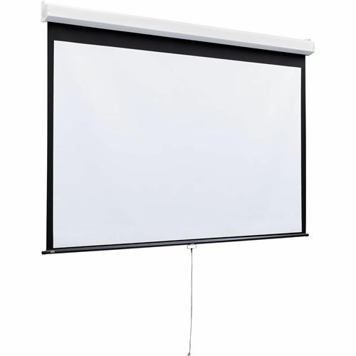Luma 2 Manual Projection Screen - Wall or Ceiling Mounted - Non-Tensioned - 58 x 104 - 119 Diagonal - HDTV Format (16:9 Aspect) - High Contrast Grey