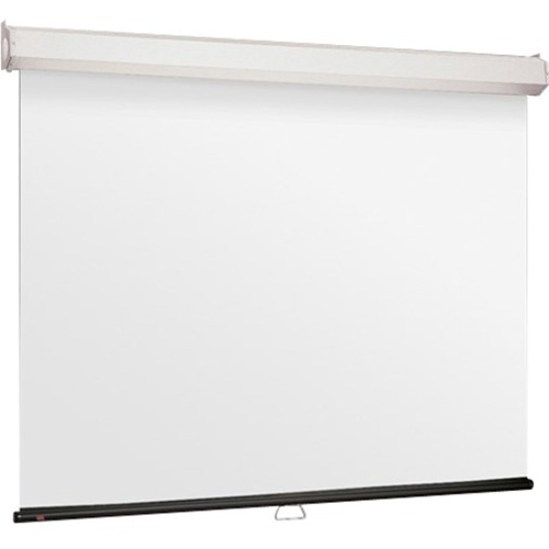 Luma 2 Manual Projection Screen - Wall or Ceiling Mounted - Non-Tensioned - 65 x 116 - 133 Diagonal - HDTV Format (16:9 Aspect) - Matte White