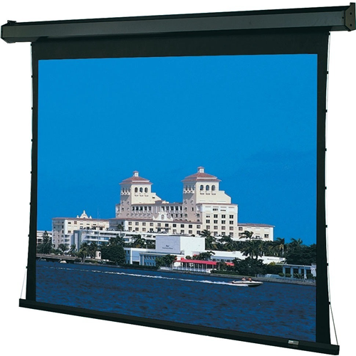 Premier Motorized Projection Screen - Wall/Ceiling Mounted - Tab-Tensioned - 65 x 116 - 133 Diagonal - HDTV Format (16:9 Aspect) - Hi Def Grey