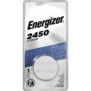 Lithium Battery, 3 Volt, Silver