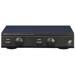 Niles SSVC2 Black Two-pair Speaker Selector with Volume Controls