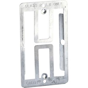 Single Gang Plate Bracket Metal (10pack)