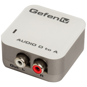 Gefen GTV-DIGAUD-2-AAUD Digital to Analog Audio Adapter