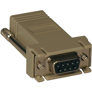 STRAIGHT THROUGH ADAPTER RJ45-F/DB9-F FOR CONSOLE SERVERS