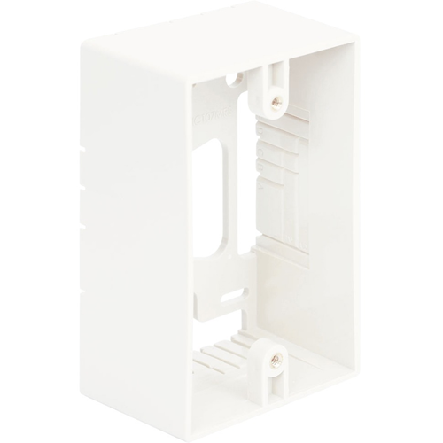 ICC (IC107MRSWH) Faceplate & Mounting Box