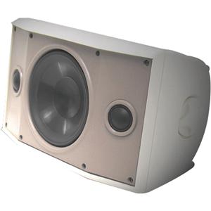 Proficient Audio SYSTEMS AW500TTWHT 5.25 Indoor/Outdoor Dual Voice Coil Speaker (White)