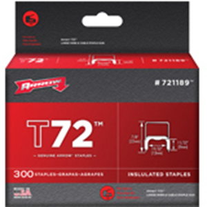 Genuine T72 Insulated Staples - 300