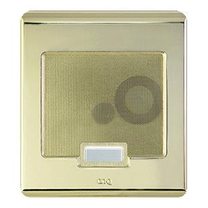 Selective Call Door Unit- Shiny Brass