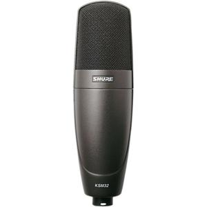 Shure KSM32/CG Cardioid Side Address Studio Condenser Microphone - Charcoal Gray