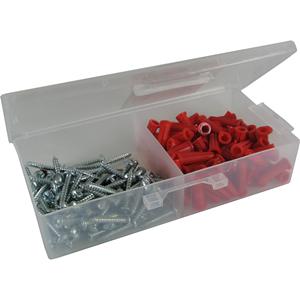 Dottie RD3 Red Collar Plastic Anchor Kit