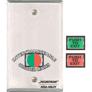 Securitron PB3E Push Button