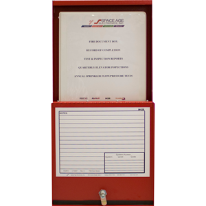 FIRE DRAWING BOX RED