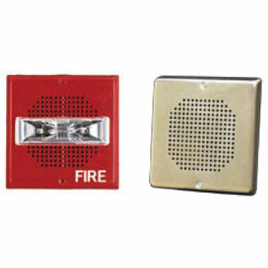 8W SPK STR,WALL,24V,STD,RED