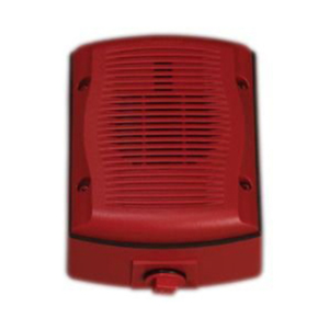 WALL,OUTDOOR,RED, SPKR ONLY