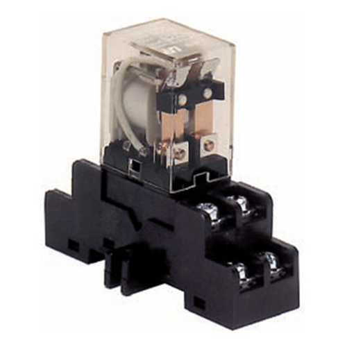 DIN RAIL MOUNT UL RECOGNIZED RELAY & BAS