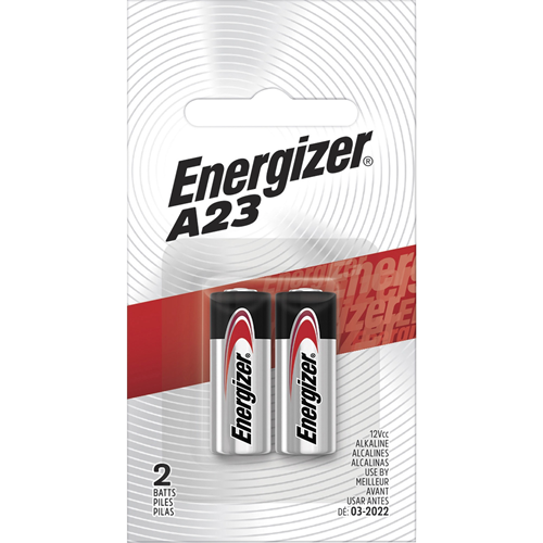 Battery, f/Watch/Electronics, Alkaline, A23, 2/PK, BKSR