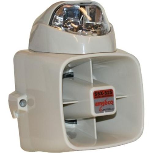 Potter SSX-82 Series Durable Siren/Siren Strobe