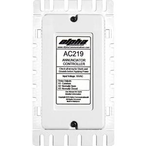 Alpha AC219 Annunciator Control Unit for AlphaEcall and CM800 / DS100