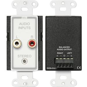 RDL D-CIJ3D Consumer Input Jacks - Stereo