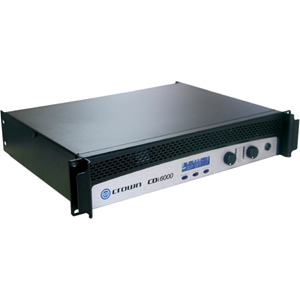 Crown CDi 6000 Amplifier - 3000 W RMS - 2 Channel