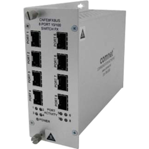 UNMANAGED SWITCH,8PRT,100MBPS