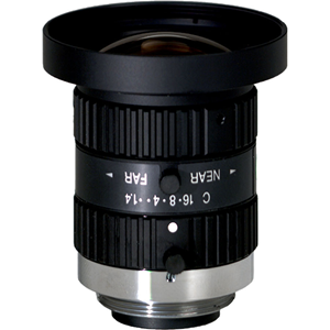 t1/2 inch C 5.0mm F1.4-16 Megapixels
