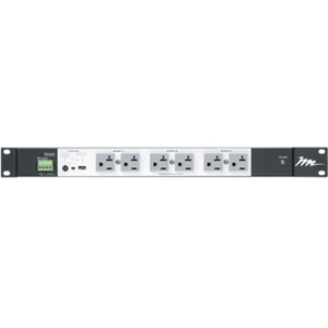 Middle Atlantic Multi-mount Rackmount Power, 16 Outlet, 20A, 3-Step Sequencing