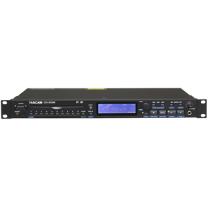 Tascam CD-500B 1-Rack CD Player