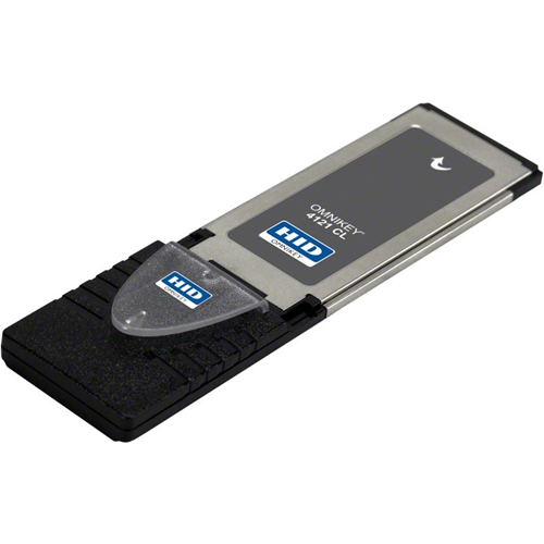 OMNIKEY 4121 CL, RFID EXPRESSCARD 34MM/54MM READER, TRANSPARENT CARD RETAINER F