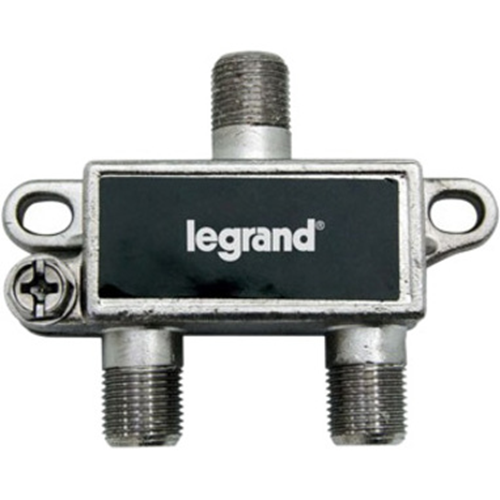 Legrand-On-Q 2-Way Digital Cable Splitter w/ Coax Network Support
