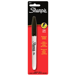 SHARPIE FINE BLK CARDED
