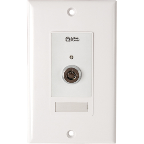 WALL PLATE KEY SWITCH, HARD CONTACT CLOSURE