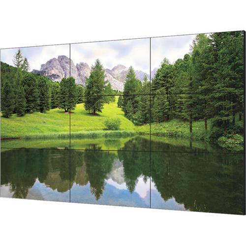 "60""Ultra slim bezel video wall LED monitor 24/7"