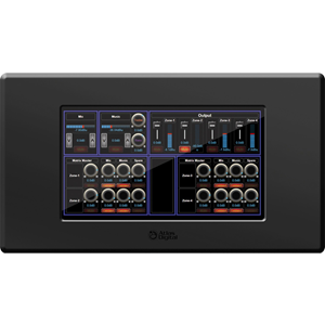 WALL TOUCH PANEL, 7' BLACK