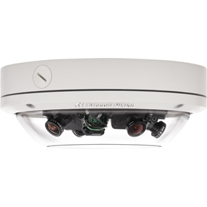 SurroundVideo AV12176DN 12MP WDR H.264 All-in-One Omni-Directional User-Configurable Multi-Sensor Day/Night Indoor/Outdoor Dome IP Camera with 28mm Lens