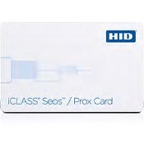 HID iCLASS Seos + Prox Card