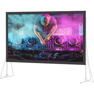 "99798 Heavy Duty Fast-Fold Deluxe Projection Screen (8'6"" x 14'4"")"