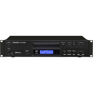 CD-200BT Rackmount CD Player With Bluetooth Receiver