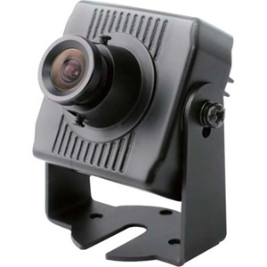 ISD-A14-25_AA Hyper Wide Light Dynamic Mini Cube Color Camera with 2.5mm Lens, CBK-A14 ATM Bracket, & 24VAC to 12VDC Converter