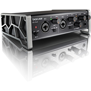 US-2X2 CHANNEL USB AUDIO INTERFACE