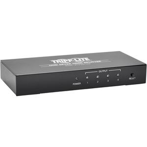 4-Port 4K HDMI Splitter for Ultra-HD4Kx2K Video and Audio - 3840x2160