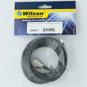 10 ft. RG58 Coax Cable Assembly (N Male - SMA Male)